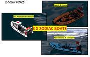 Zodiac Boat set 3d model