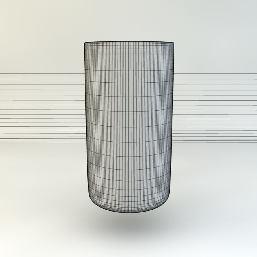 Glass of Chilled Water royalty-free 3d model - Preview no. 9