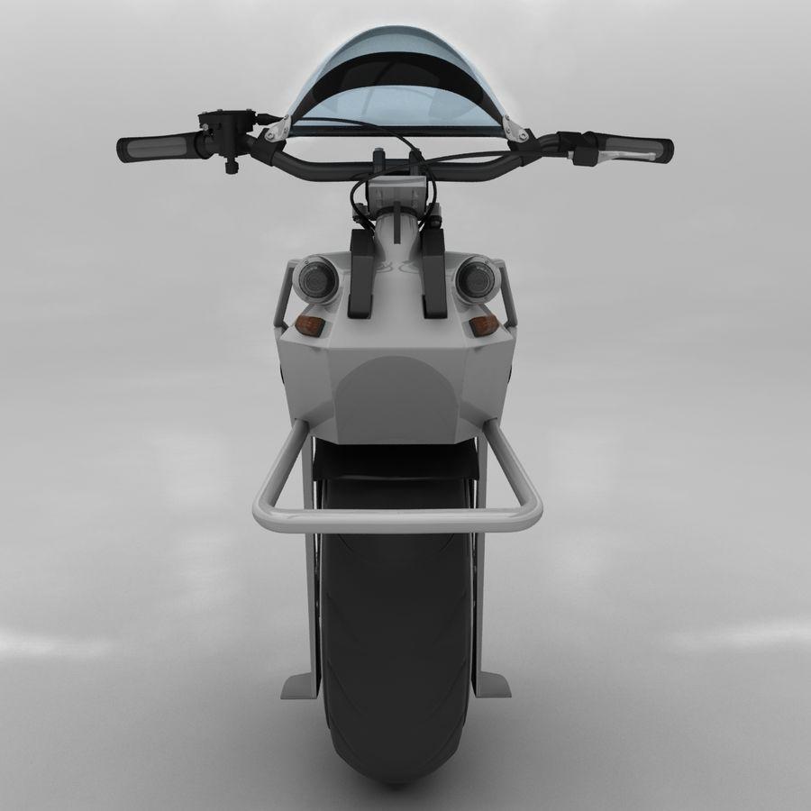 電動一輪車 royalty-free 3d model - Preview no. 7
