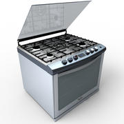 Whirlpool Stove WE8650S 3d model