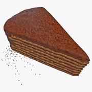 Fetta di torta 3d model