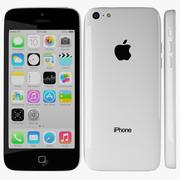Apple iPhone 5c White 3d model