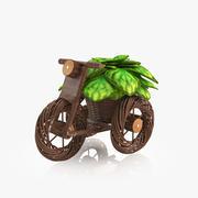 Flower Bike 3d model