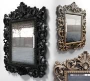 espejo de pared modelo 3d