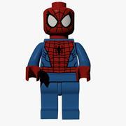 Лего Человек-Паук 3d model