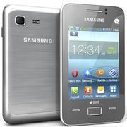 Samsung Rex 80 S5222R Argent 3d model