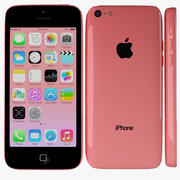 Apple iPhone 5c Red 3d model