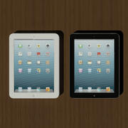iPad 4 3d model