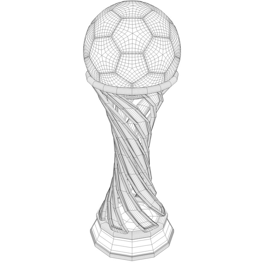 Trophy royalty-free 3d model - Preview no. 10