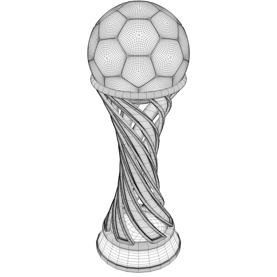 Trophy royalty-free 3d model - Preview no. 11