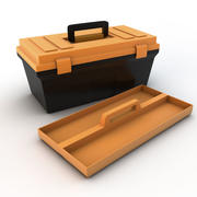 Plastic Tool Box 3d model