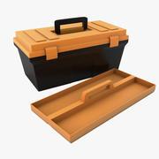 Plastic Tool Box 3d model