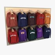 Tröjor och tröjor 3d model