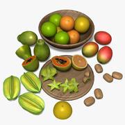 Тропический фрукт 3d model