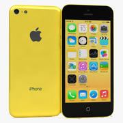 Apple IPhone 5C Желтый 3d model