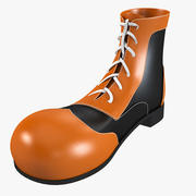 Clown Shoes 3d model