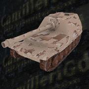 War Tank Elefant 3d model
