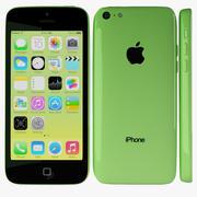 Apple iPhone 5c Zielony 3d model