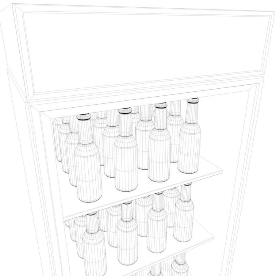 Boire un frigo royalty-free 3d model - Preview no. 13