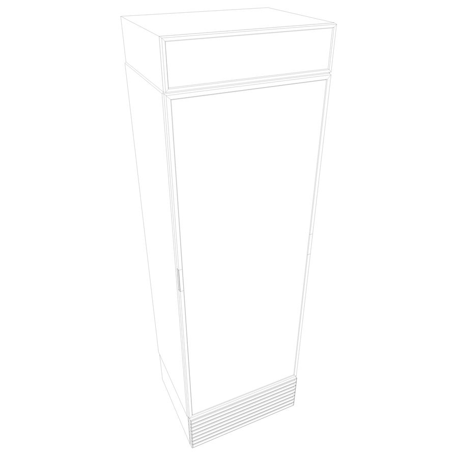 Boire un frigo royalty-free 3d model - Preview no. 10