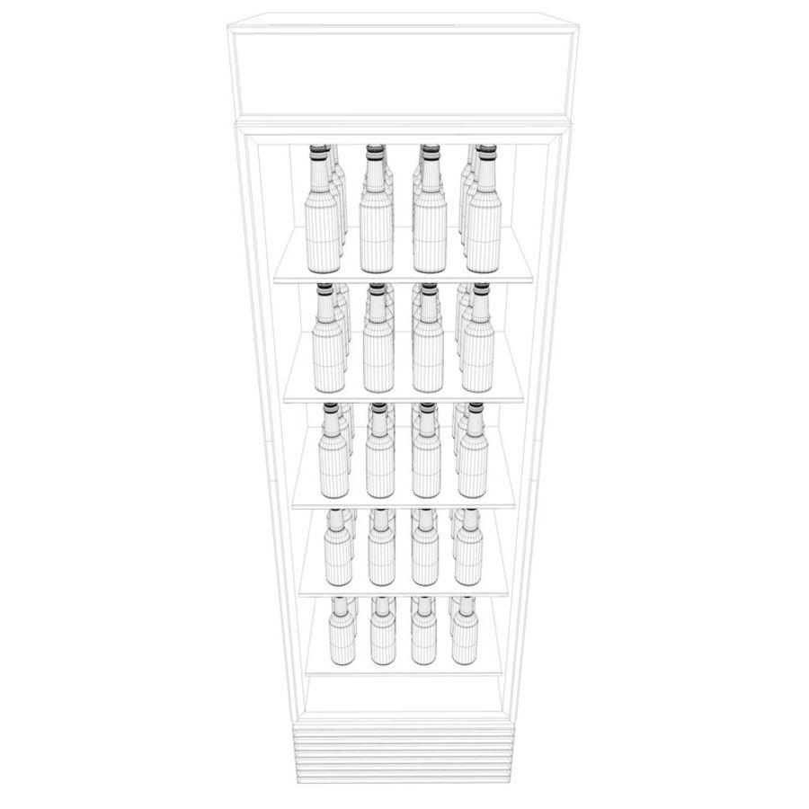 Boire un frigo royalty-free 3d model - Preview no. 11
