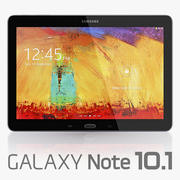 Samsung Galaxy Note 10.1 (издание 2014 г.) 3d model