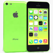 Apple iPhone 5C zielony 3d model