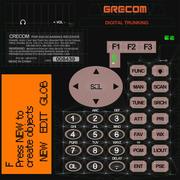 Handheld Scanner GRE PSR500 3d model