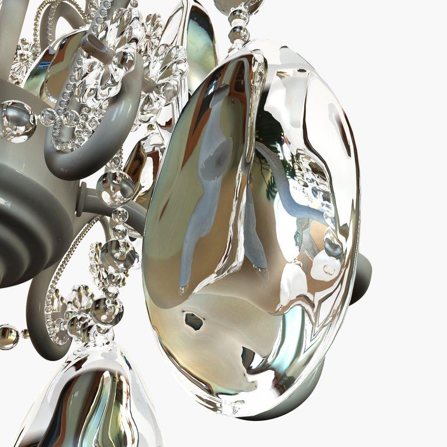 Kurbağa yavrularını üç ampul avize royalty-free 3d model - Preview no. 5