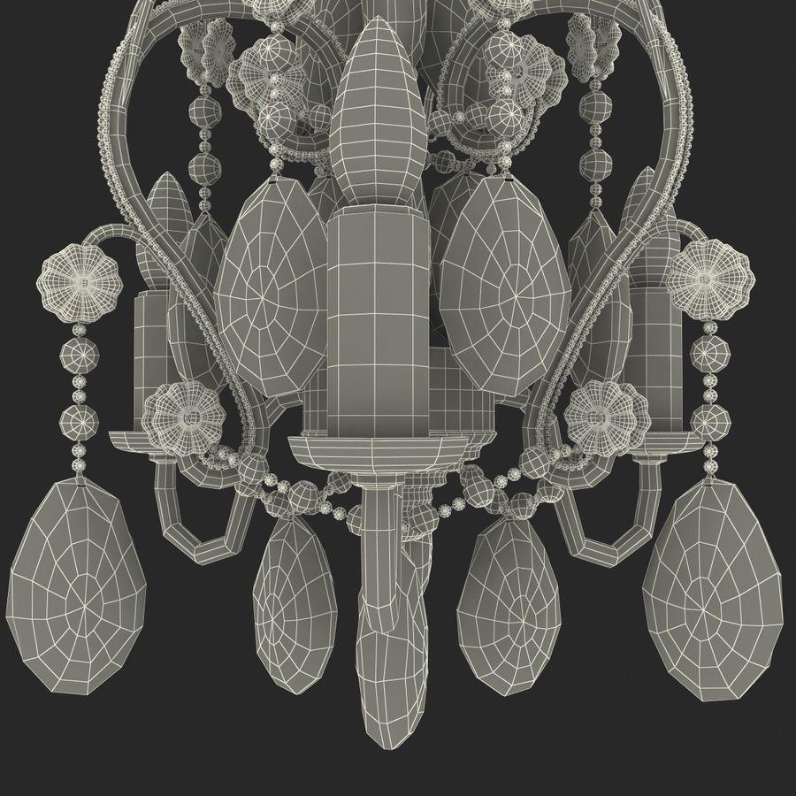 Kurbağa yavrularını üç ampul avize royalty-free 3d model - Preview no. 14