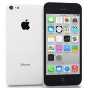 Apple IPhone 5C Branco 3d model