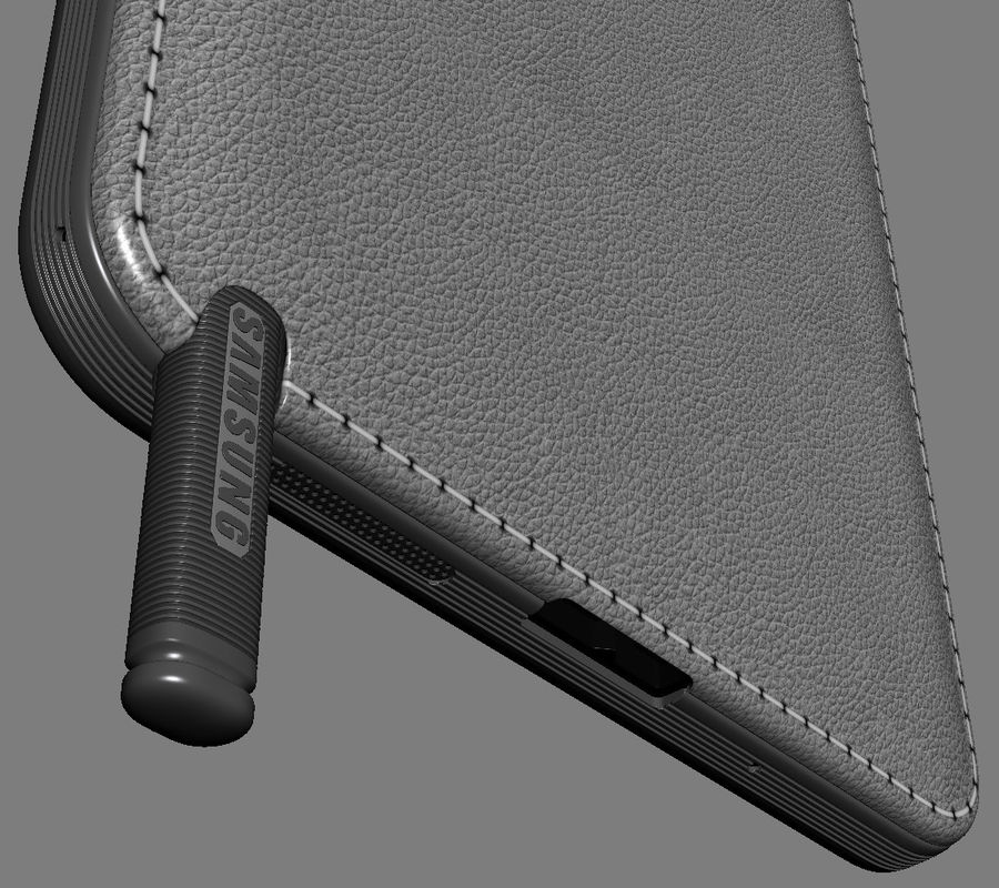 Samsung Galaxy Note 3 royalty-free 3d model - Preview no. 21