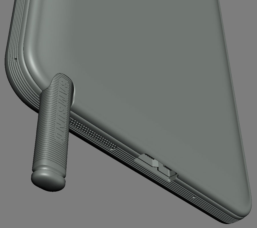 Samsung Galaxy Note 3 royalty-free 3d model - Preview no. 22