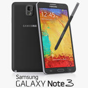Samsung Galaxy Note 3 modelo 3d