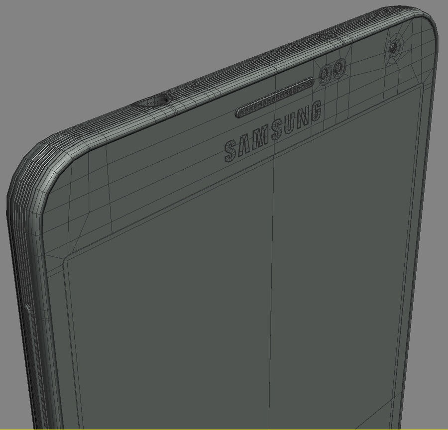 Samsung Galaxy Note 3 royalty-free 3d model - Preview no. 26