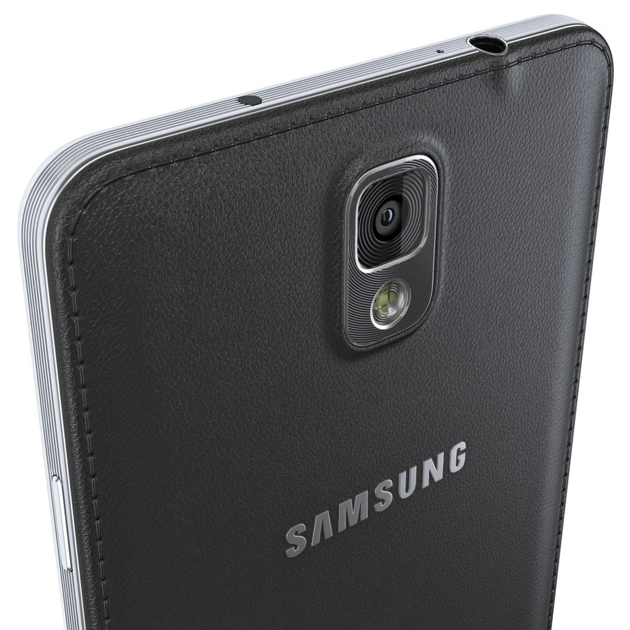 Samsung Galaxy Note 3 royalty-free 3d model - Preview no. 10