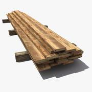 Tavole di legno 3d model