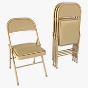 Çelik Katlanabilir Sandalye Hon FC02LBG 3d model