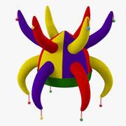Clown Jester Hat 3d model