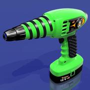 Cordless Hand Drill 3d model