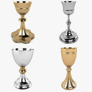 Chalice Collection 3d model