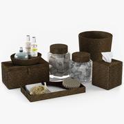 Akcesoria do kąpieli Tava Barn Ceramika 3d model