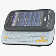 LG Rumor Reflex LN272 3d model