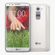 LG G2ホワイト 3d model