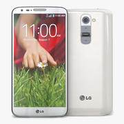 LG G2 Biały 3d model