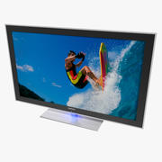 LED HDTV Samsung UN55 B8000 3d model