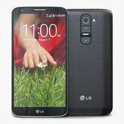 LG G2 Black 3d model