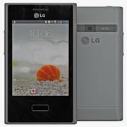 LG Optimus L3 E400 3d model