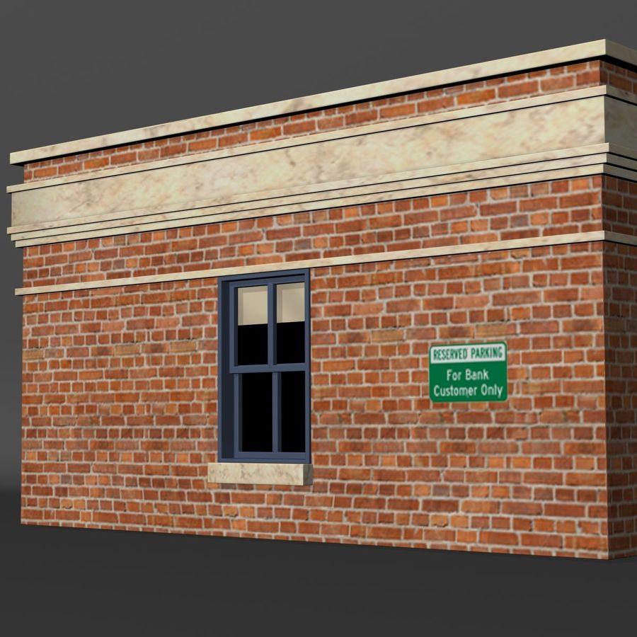 Банка royalty-free 3d model - Preview no. 11