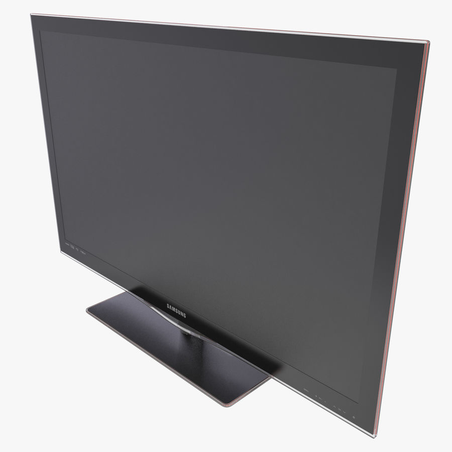 LCD TV Samsung LE46C650L1W royalty-free 3d model - Preview no. 1